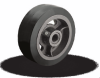 MH Series Heavy Duty Mold-On Rubber on Iron Core Wheels