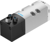 Air solenoid valve -- VSVA-B-T32H-AD-D1-1R5L -Image