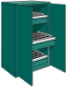 Tool Storage Cabinet for Taper 50 with Solid Doors (36
