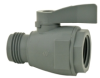 PVC Two-Way Ball Valve 3/4