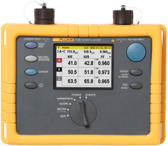 Fluke 1735 fluke three phase power logger monitors power and.
