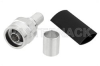 N Male Connector Crimp/Non-Solder Contact Attachment for LMR-400, PE-C400, PE-B400, PE-B405 -- EZ-400-NMH-X -- View Larger Image