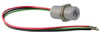 103SR Series Latching Hall-Effect Digital Position Sensor with 15/32-32 UNS-2A cylindrical aluminum threaded housing; two hex nuts; 152 mm [6.0 in] 24-gauge stranded lead wires, irradiated polyethylen -- 103SR18-1