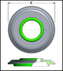 Metric SEELOC? Self-Sealing Washer -- 75312