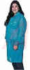 Smock;Lab Coat;3 Pockets;Collar and Conductive Cuff;Blue;Large;4mm Snap -- 70213929