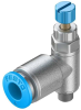 Pneumatics, Hydraulics - Valves and Control -- 2171-GRLA-M5-QS-6-RS-D-ND -Image