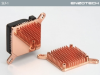 Enzotech Forged Copper Northbridge Heatsink w/ Fan -- 13006