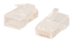 Cables to Go RJ45 Cat5 8 x 8 Modular Plug for Round.. -- 11381