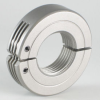 UNF/UNC Threaded Stainless Steel Hinge-Type Collars -- 3S008FH - Image