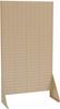 Rack, Louvered Rivet Floor Rack, 1-Sided -- 30661BEIGE
