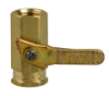 Brass Inline Ball Valve -- 134016