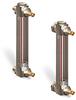 Steel Liquid Level Gage with Shut-Off -- B1579 Series