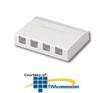 Panduit® Mini-Com Shuttered Surface Mount Boxes -- CBXS4-A