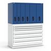 R2V Vertical Drawer Cabinet, 6 Drawers (54