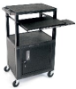 42 Inch Height Presentation Station with Cabinet -- WTPS42CE