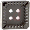 connector,plcc socket,thru hole mounting,lead free,44 position -- 70089046 - Image