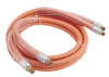 GREENLEE Fairmont Rubber Low Pressure Hose Assembly, Orange, Non-Conductive