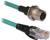 Micro D-Code, QD Style Ethernet Media -- 1585D-D4UBJM-15 -Image