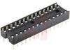 Socket, DIP;28Pins;Dual Leaf;Economy Ladder;0.3In.;Phosphor Bronze -- 70042912 - Image