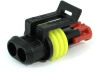 TE Connectivity AMP Superseal 1.5mm 2 Position Plug Housing, 282080-1 -- 38280 -- View Larger Image