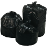 Low-Density Repro Can Liners, Black -- L58XXH