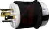 Twist-Lock Plug, 3 Pole, 4 Wire, L15-30P NEMA, Insulgrip -- 70116109