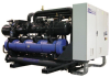 Water Cooled Chillers and Heat Pumps with Inverter Screw Compressors -- Isw EA