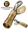 Miniature Keychain Flashlight -- Bronze Nano Light - Image