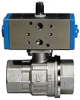 Pneumatic Actuated Ball Valve -- 8P0133/8P0134 2-Way SS