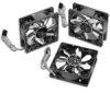 80mm Ultra Titanium/Titanium Ball Bearing Fans (3 Pack) -- 130873 -- View Larger Image