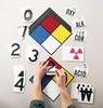Placard Kit,Nfpa -- 1UR98