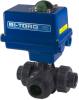 3-Way PVC Ball Valve -- IC-3W Series -Image