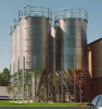 Corrugated Bolted Silo w/ 10° Roof -- 15-18454