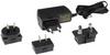 External Power Supply for USB VGA over Cat5 UTP KVM Console Extender Kit, 12VDC, 1000mA -- 0DT60001-AC-INT - Image