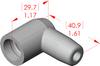 Angle Boot Insulator -- 16036 - Image