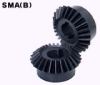 100mm PD Hardened Miter Gears -- SMB4-25-Image