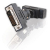360° Rotating DVI-D™ Male to DVI-D™ Female Adapter -- 2102-40934-ADT - Image