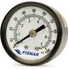 Fisnar 560934B Regulator Gauge Black 0 to 100 psi -- 560934B -Image