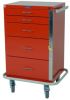 GP Line Emergency Cart Five Drawer Standard Package 6130 -- 6130