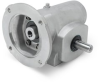 Right Angle Reducer, Washdown Duty, Stainless Steel, 18:1 Gear Ratio -- Tigear 2