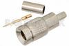 1.0/2.3 Plug Connector Crimp/Solder Attachment for RG174, RG316, RG188, LMR-100, PE-B100, PE-C100, .100 inch -- PE44244 - Image