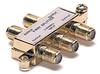 4 WAY 900MHZ F SPLITTER GOLD -- 90-10114 - Image