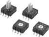 Surface-mounting Rotary DIP Switch -- A6RS Series
