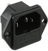 Power Entry Connectors - Inlets, Outlets, Modules -- Q201-ND -Image