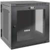 SmartRack 12U UPS-Depth Wall-Mount Rack Enclosure Cabinet with Clear Acrylic Window, Hinged Back -- SRW12USDPG -- View Larger Image