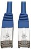 Cat5e 350 MHz Molded Shielded STP Patch Cable (RJ45 M/M), Blue, 3 ft. -- N105-003-BL - Image