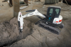 Minimal Tail Swing Compact Excavator -- E50