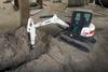 Minimal Tail Swing Compact Excavator -- E50 - Image