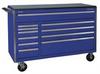 Rolling Cabinet,53 x 24 x 44-1/2 In,Blue -- 33M656
