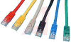 CABLE, MOLDED, CAT 5E WITH LOW PROFILE,5FT. RED; Booted -- 70081022 - Image